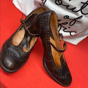 Classy Leather Heels